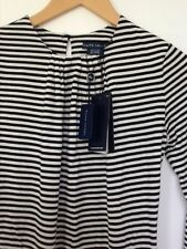 Jersey Striped Casual Other Women's Tops