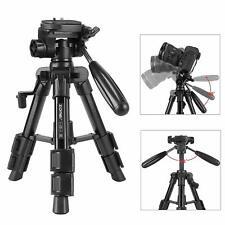 ZOMEI Pro Travel Portable Tabletop mini Tripod Pan Head stand for DSLR Camera