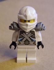 Lego Ninjago - Zane - Titanium Ninja White Figur ( weiss silber Sane Zän ) Neu
