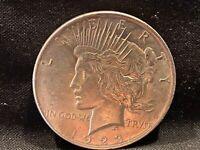1923 90% Silver Peace Dollar (#147)