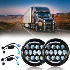 New Design LED Headlight Headlamp Bulb Lamp for Mack Granite Trucks V713 A Pair