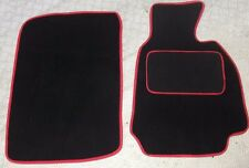 BMW Z3 95-03 Fully Fitted Custom Made Tailored Car Floor Mats Black & Red Trim