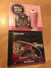 MALT SHOP FAVORITES Collector's Edition 3 CD Original Artists BRAND NEW +BONUS !