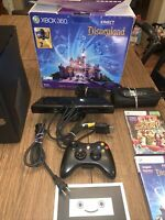 Xbox 360 4GB Kinect Console Disney Adventures Disneyland Edition In Box