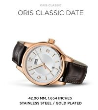 Oris Classic Date 42mm Men's Automatic Winding Dress-watch RRP $1600