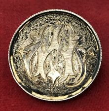 Vintage Brooch Pin Love Token Unknown Year Coin