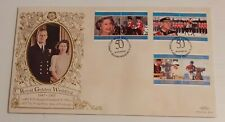 1997 Benham First Day Cover - Bahamas Royal Golden Wedding 1947 - 1997 Stamps