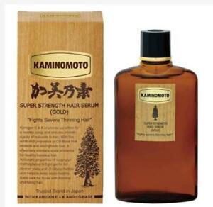 Japan No.1 Hair Tonic Kaminomoto Hair Loss and Growth Acceleration Gold 150ml