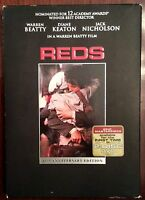 REDS DVD 25th Anniversary Edition with Slipcase - Beatty Keaton Nicholson