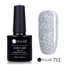 24Colors Glitter UV Gel Nail Polish Soak off Color Changing Gel Vernish