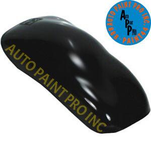 Super Jet Black Quart URETHANE BASECOAT CLEARCOAT Car Auto Paint Kit