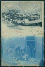 Livorno Città Chiaro di Luna Militari cartolina QQ3637