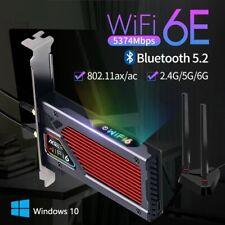 Wireless Network Card Adapter Bluetooth Gigabit Ethernet RGB Gaming Equipment