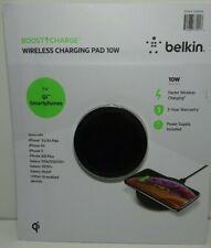 Belkin Boost Up 10W Wireless Charging Pad  for Qi Smartphones - Black