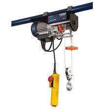 Ferm Electric Lever Hoist Scaffold Garage Workshop Pulley 12m 250kg