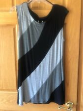 WRAPPER TUNIC TOP - SIZE L - NWOT