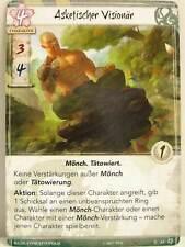 Legend of The Five Rings lunaires - 1x #063 asketischer visionnaire-Base Set Allemand