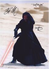 "Ray Park - Hand Signed Autograph Photo 8x12"" - Star Wars Phantom Menace"