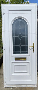White UPVC Front, Back, Garage Door. Pub shed. Offers.