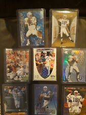 Lot Of 8 Peyton Manning cards and Insert Cards. Only going up