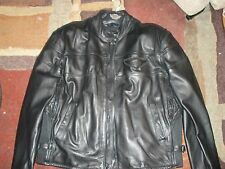 "WOMEN""S HARLEY-DAVIDSON ALL LEATHER HEAVY WEIGHT WINTER RIDING JACKET  SIZE MED"