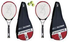 2 x Browning Nanotec 250 Tennis Rackets + 3 Tennis Balls RRP £530