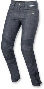 Alpinestars Women's Size 32 Stella Riley Blue Street Motorcycle Jeans
