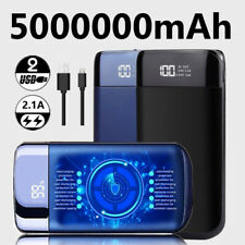 External 5000000mAh Charger Power Bank Portable Battery for Mobile Phone LCD USB