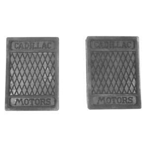 1927-1940 Cadillac ALL MODELS Pair of Clutch and Brake Pedal Pads