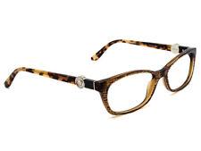 Versace Eyeglasses MOD. 3164 991 Brown Tortoise Rectangular Frame 53[]16 135