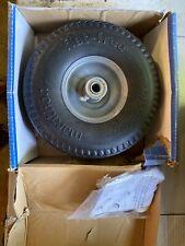 "Marathon 00210 10"" Flat Free Universal Fit Hand Truck Tire, 4.10/3.50 - 4"""