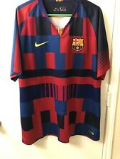 2018 Barcelona Nike 20th-Year Anniversary With Nike Jersey Men's Size 2XL