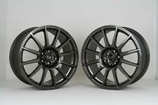 "2x Rota Gravel 18"" Alloys fits Subaru Impreza Forester BRZ Toyota GT86 5x100"
