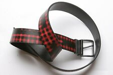 686 Lumberwack Reversible Belt (S/M) Red