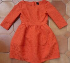 H&M - Conscious Collection - Orange Special Occasion Dress - UK 10 - REDUCED