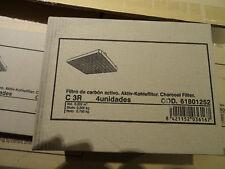 Aktivkohlefilter 1 Set (4 Stück) TEKA C3R ZUB5000 EDIP 6500.0 6550 9500 9550