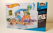 HOT WHEELS RACE RALLY WATER PARK - Fun For the Tub! Bath NEW NIB 2013