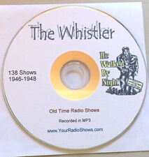 The Whistler 1CD 138 Shows-Old Time Radio-Tales of Mystery and Terror-ONLY $3.99