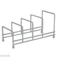 Delfinware Plate Storage Rack 2625 White Crockery Drainer Cupboard Storage New