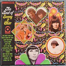 The Best of Sonny & Cher.1967 vinyl LP