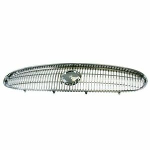 Grille All 03-05 Custom Chrome/Black fits 2000 2005 Buick LeSabre