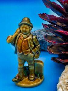 Vintage Small Ceramic Wade Style Walking Gentleman Figurine Ornament