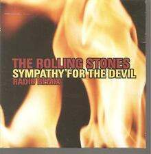 "ROLLING STONES ""Sympathy for the Devil Radio Remix"" Spain PROMO CD Cardsleeve"