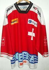 SWITZERLAND RARE HOCKEY SHIRT JERSEY #21 MULLER XL SWISS SUISSE