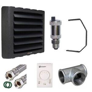 Lufterhitzer Reventon 22 26 34 43kW + Drehzahlregler mit Thermostat + Konsole