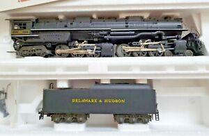 Rivarossi 1599 4-6-6-4 Challenger Delaware & Hudson Steam Locomotive Tested
