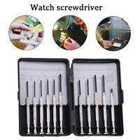 11Pcs Screwdriver Set Eyeglasses Watch Jewelry Repair Precision Home Tool Kit