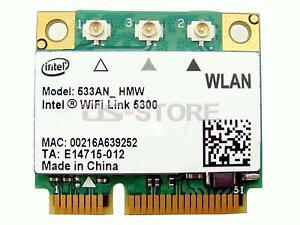Lenovo IBM 43Y6519 Intel 5300 533AN_HMW WLAN Wireless WiFi Card 300Mbps half