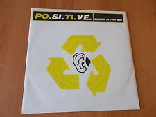 """12"""" PO.SI.TI.VE. - DANCING IN YOUR WAY 1996"""