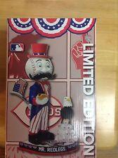 Mr Redlegs Uncle Sam Bobblehead Cincinnati Reds Limited Edition 18/60 Fanatics